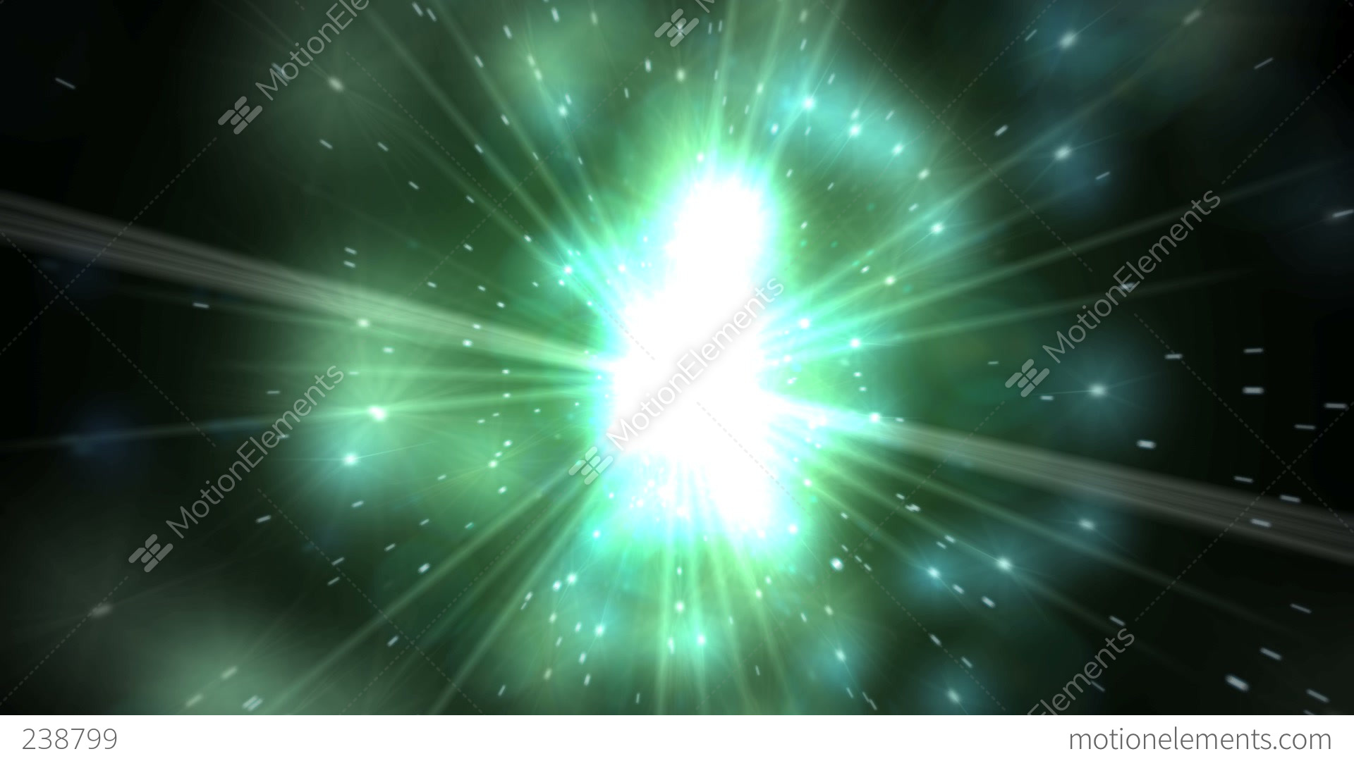 Green Light Effects Stock Footage Video: Light Effect 012HD Stock Animation