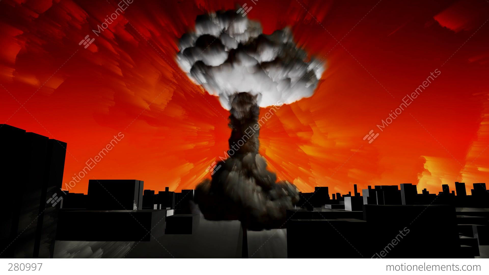 Animated Mushroom Cloud Related Keywords & Suggestions - Animated ...