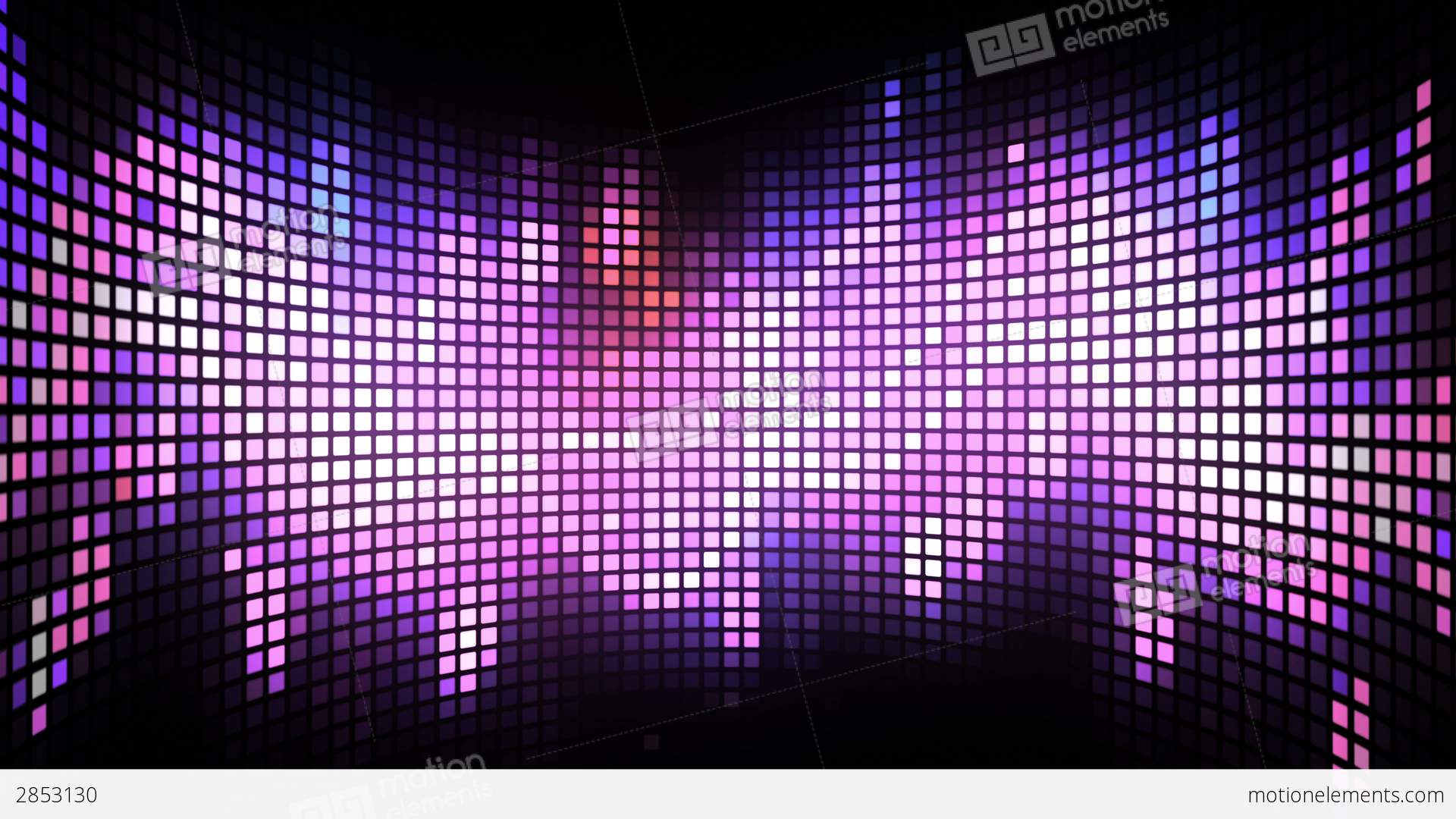 Curved Dance Light Box Background Stock Animation 2853130