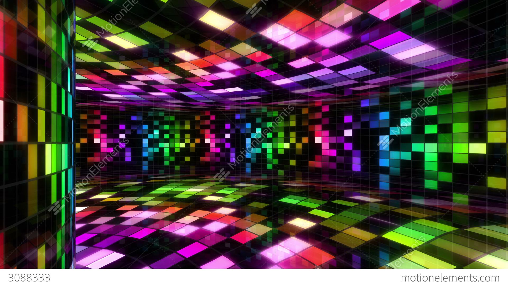 Disco dance floor wall c 01 4k stock animation 3088333 for 1 2 3 4 get on d dance floor