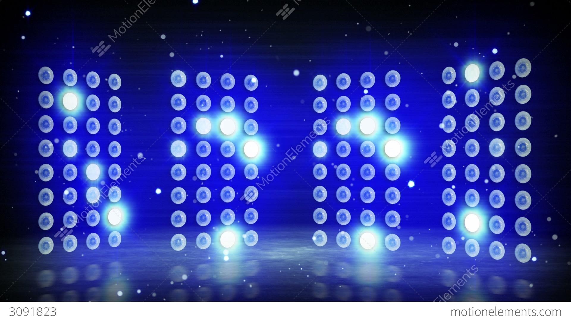 Blue Stage Lights Loopable Background Stock Animation | 3091823 for Concert Stage Lights Background  54lyp