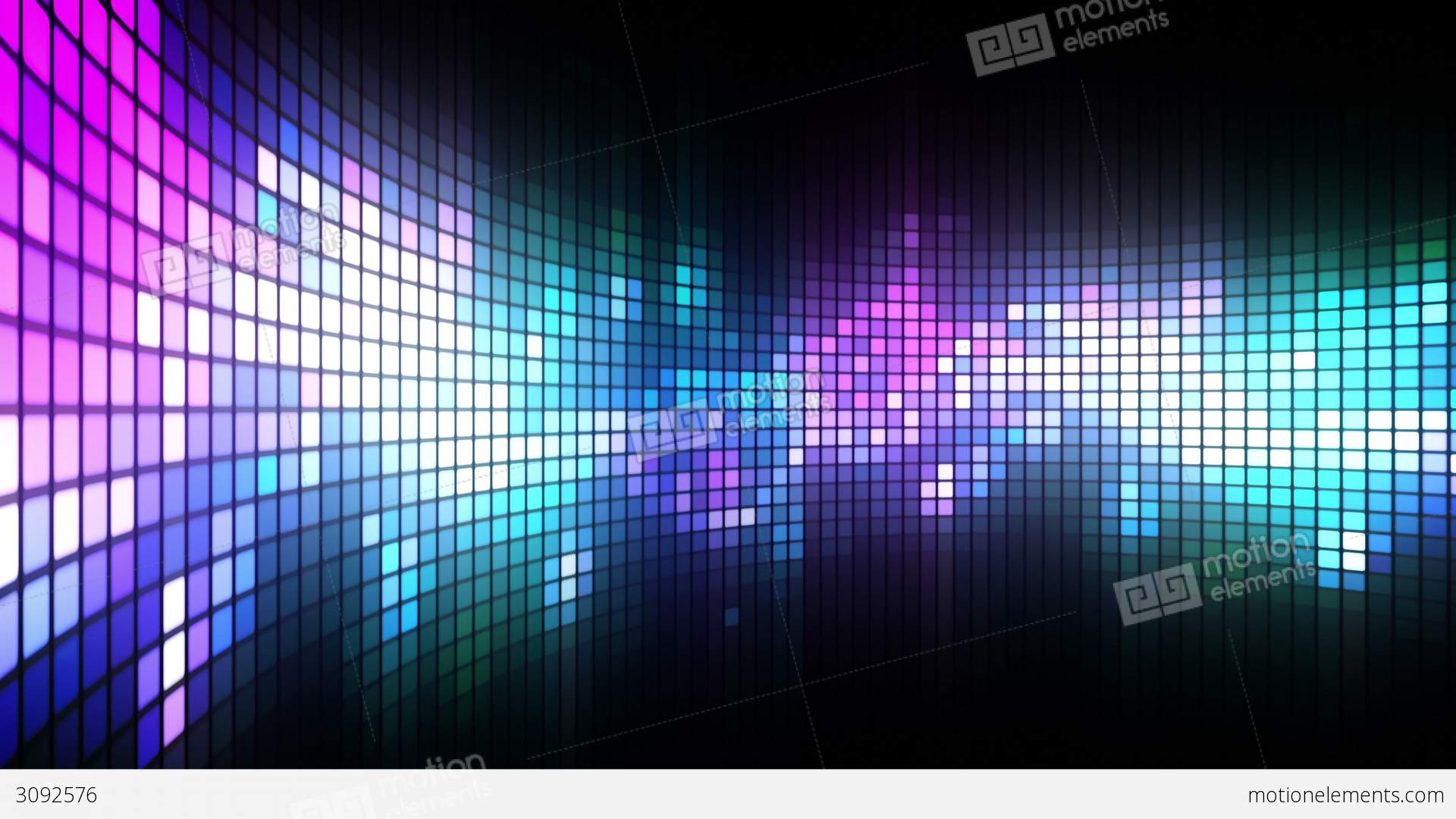 Dance Lights Wall Stock Animation 3092576