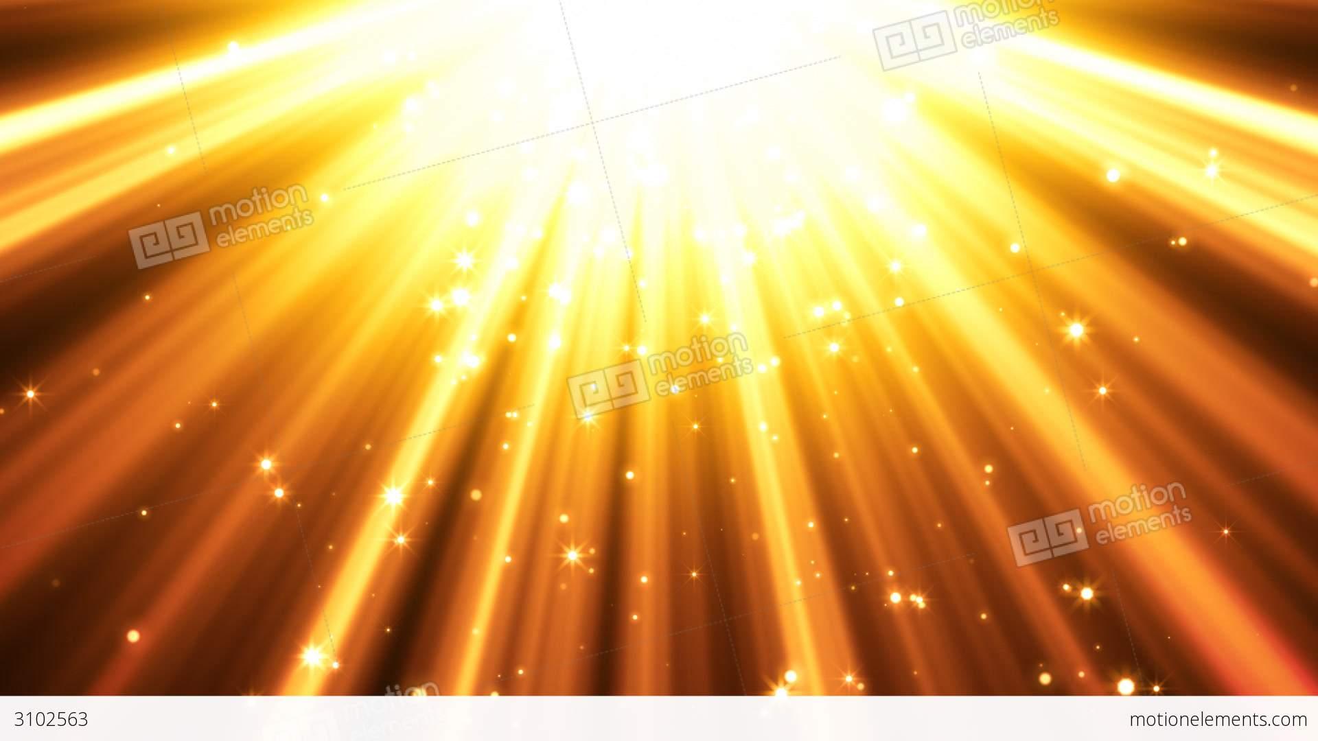Golden Light Rays Background Stock Animation | 3102563 for Yellow Light Rays Background  34eri