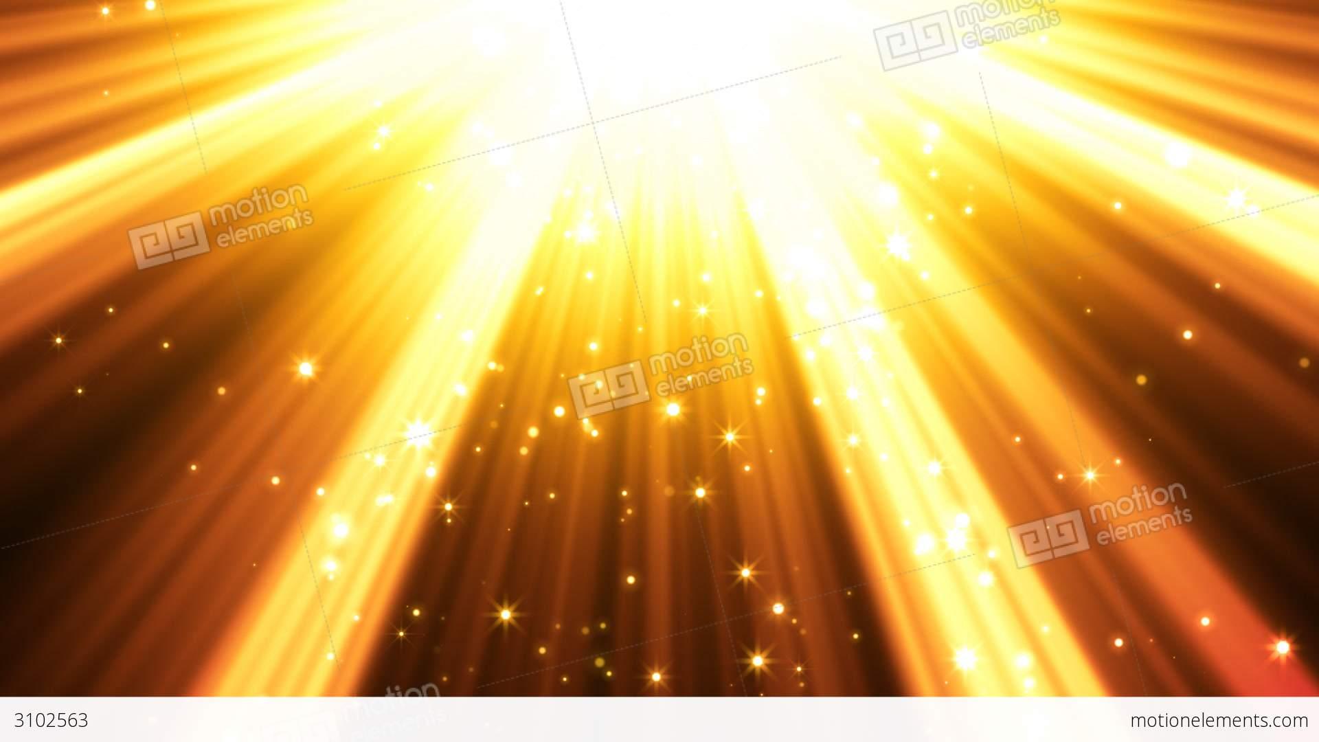 Golden Light Rays Back...