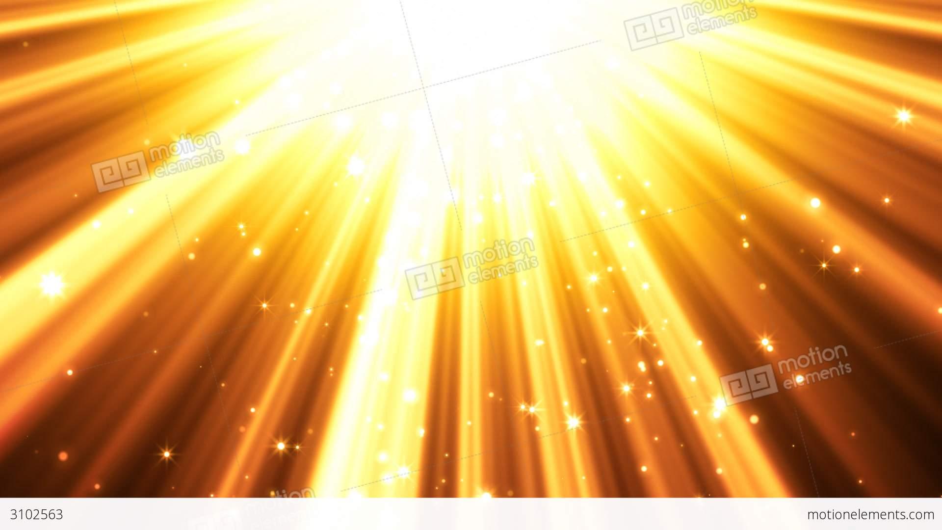 Golden Light Rays Background Stock Animation | 3102563 for Yellow Light Rays Background  45hul