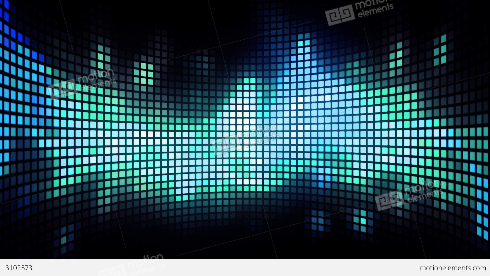 Dancing Light Grid Background Stock Animation 3102573