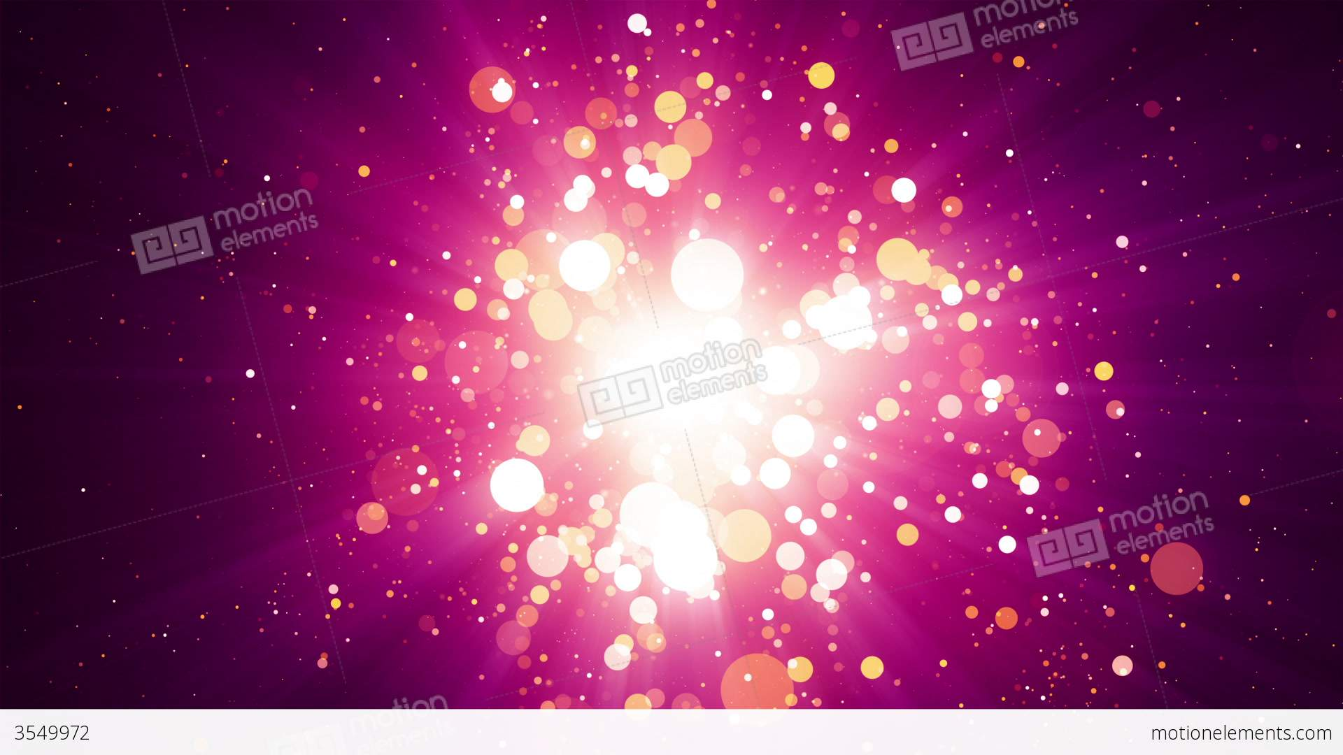 Background image center - Pink Particles Light Center Background Stock Video Footage