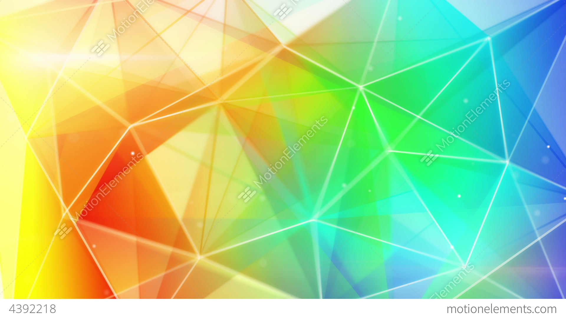 triangle colorful triangles art - photo #38