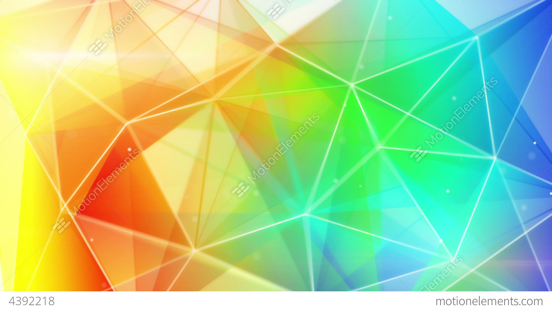 triangle colorful triangles art - photo #38