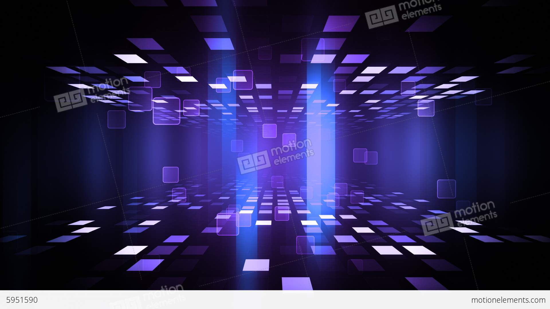 Night Club Dance Floor Stock Animation 5951590