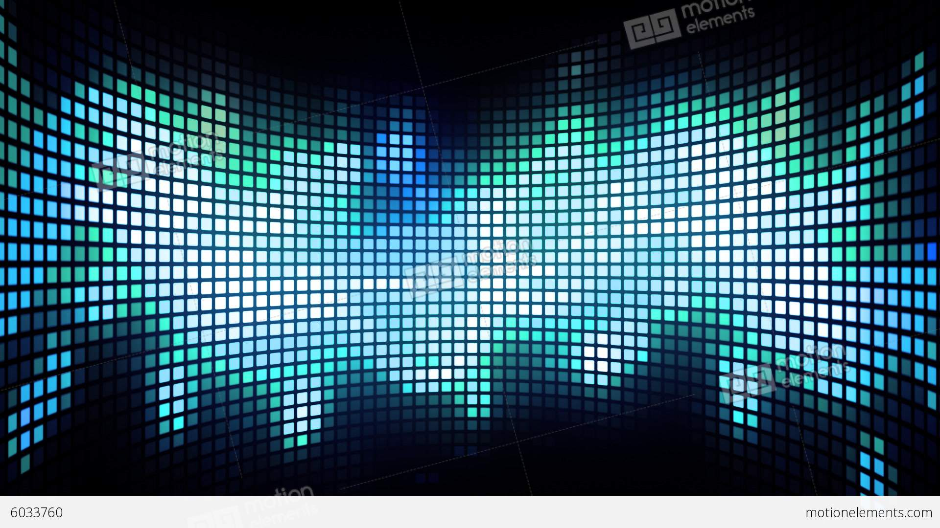 Dancing Light Grid Background Stock Animation 6033760
