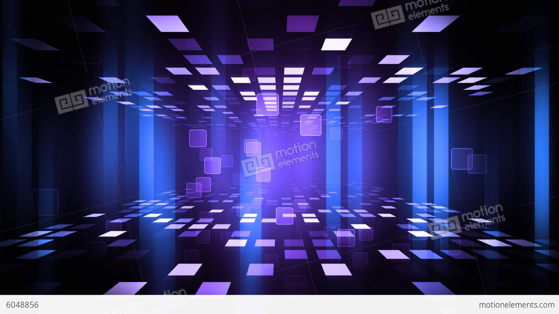 Night Club Dance Floor Stock Animation Royalty Free Stock Animation