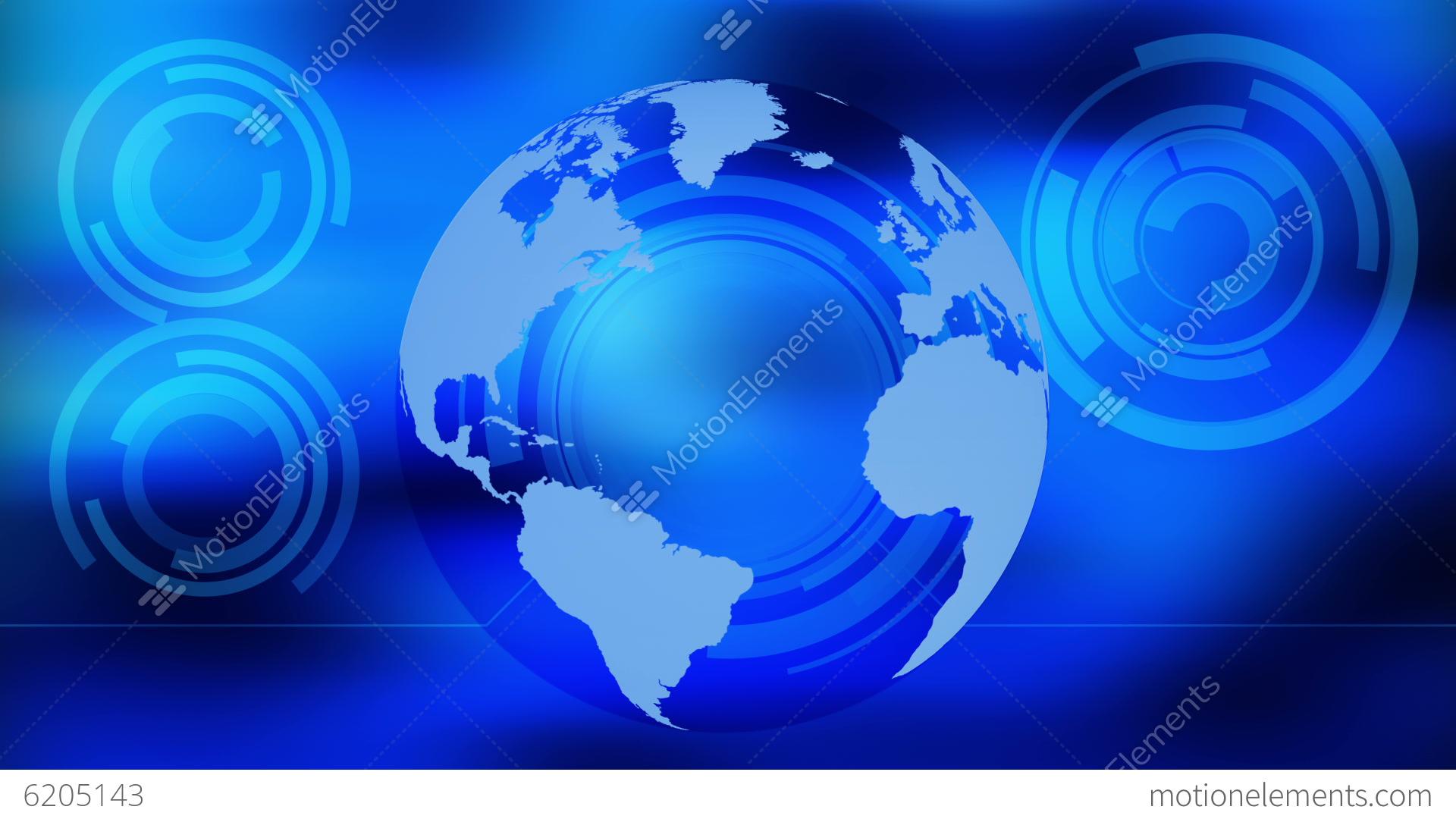world globe technology blue background stock animation Drawing Earth Clip Art World Globe Vector Clip Art