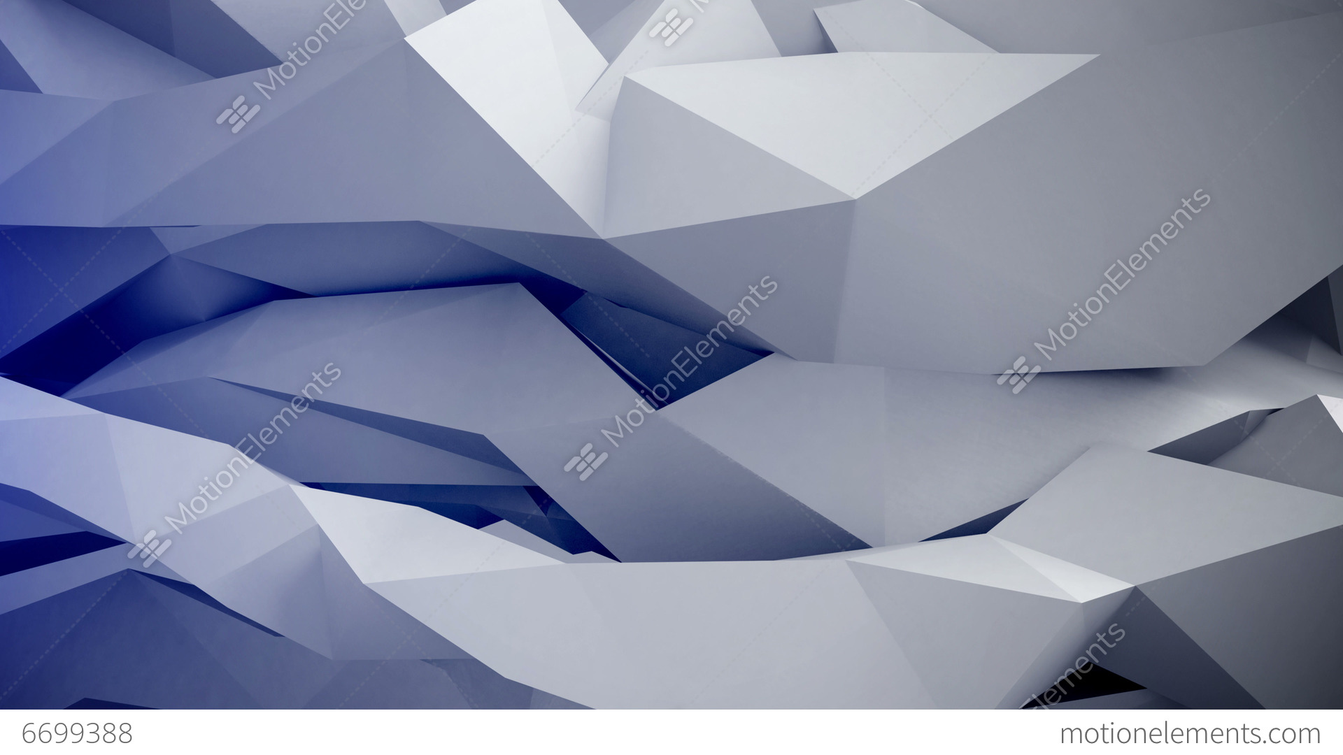Adstract 3d Geometric Shapes Motion Vj Loop Stock Animation Video