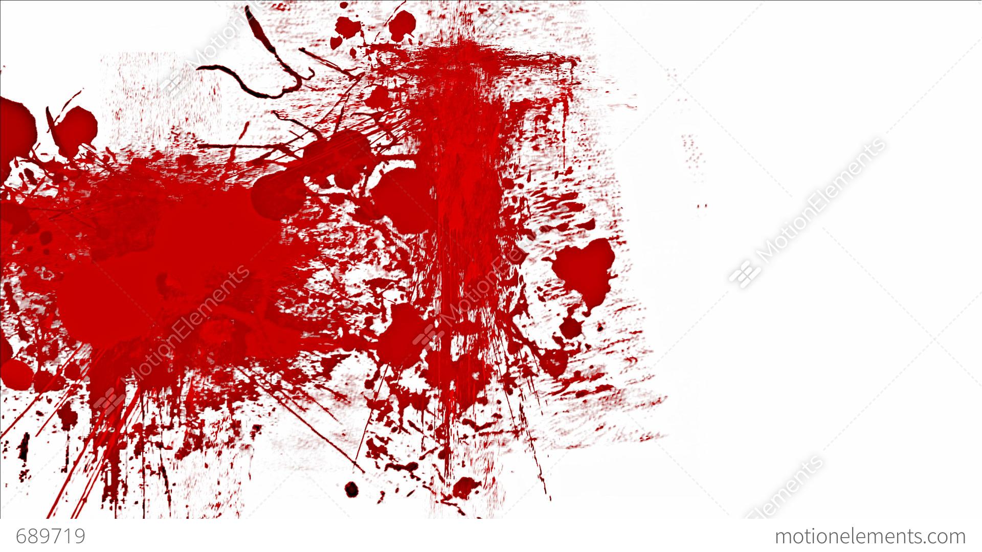 Blood Splashes Stock Animation | 689719