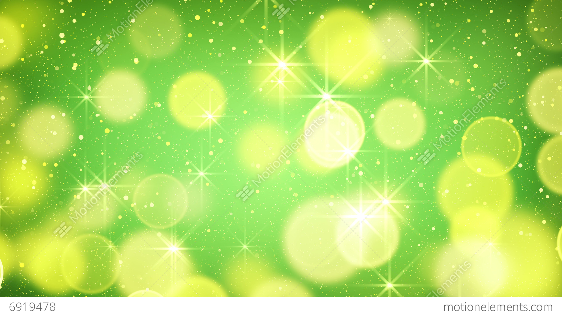 Green Light Effects Stock Footage Video: Yellow Green Bokeh Light Loopable Background 4k (4096x2304