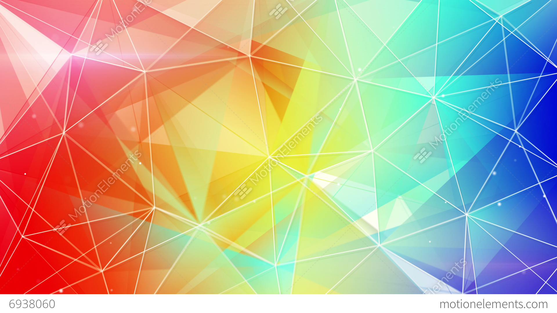 abstract triangle geometrical colorful background loop 4k  4096x2304  stock animation 6938060 Earth Science Clip Art Science Clip Art Work