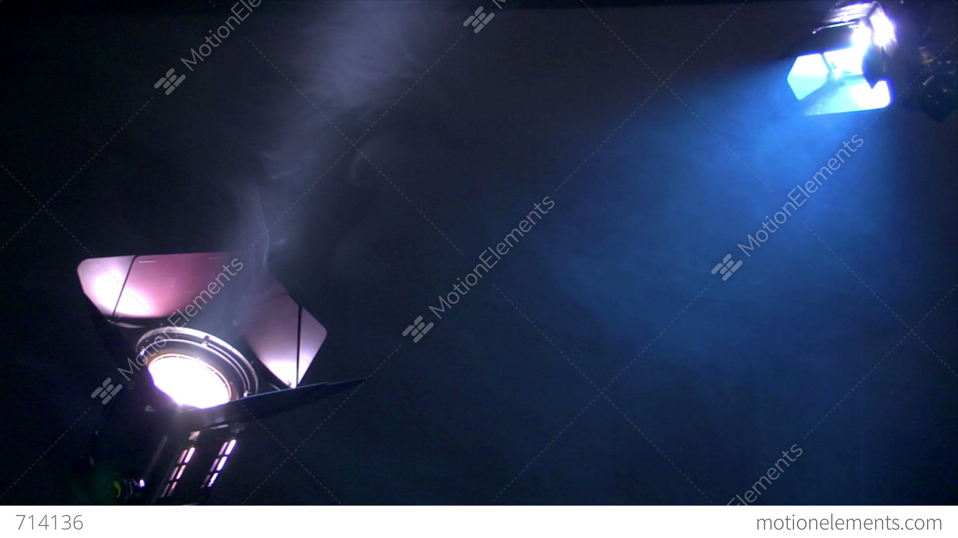 Stage Lights Background Loop Animation Stock Footage Video ...
