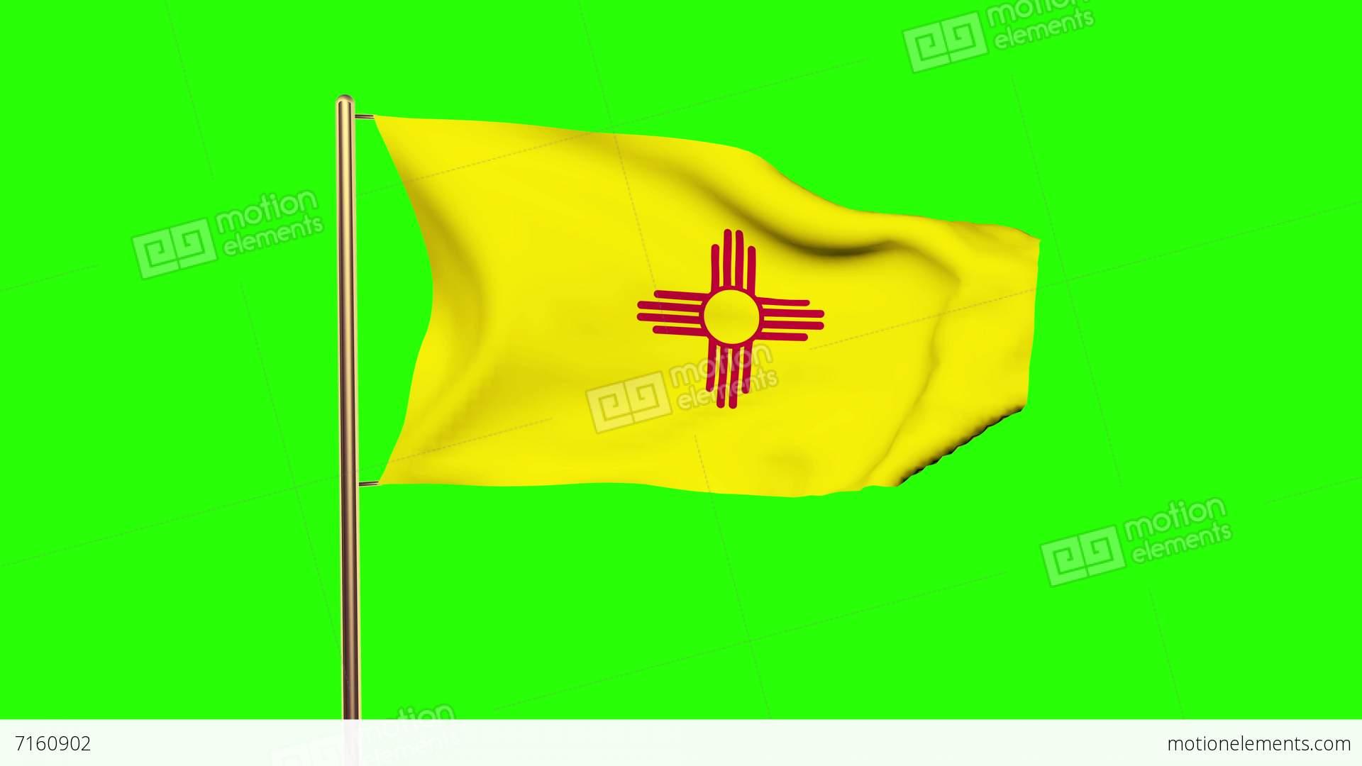 New Mexico Flag Symbol 17430 Timehd