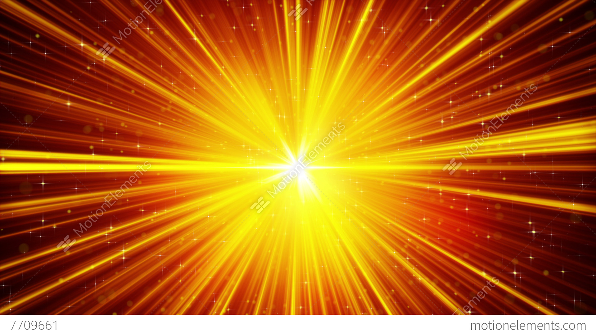 Yellow Shining Light Rays And Stars Loopable Background 4k ... for Yellow Light Rays Background  51ane