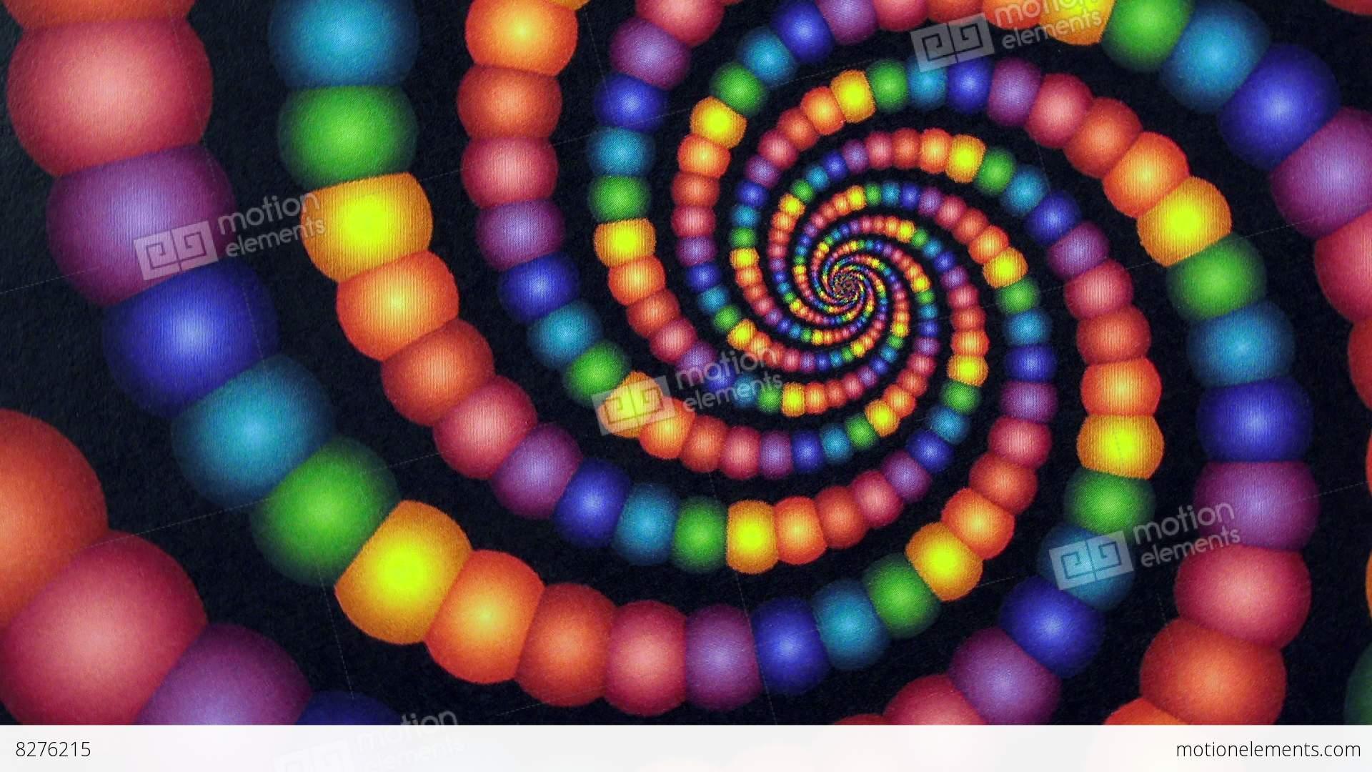 candyland rainbow color vortex animation background stock video