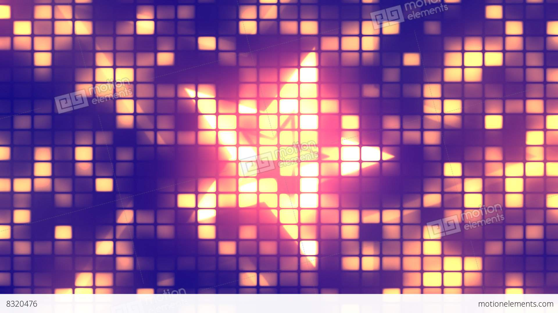 Dance Party Lights 1 Loopable Background Stock Animation 8320476