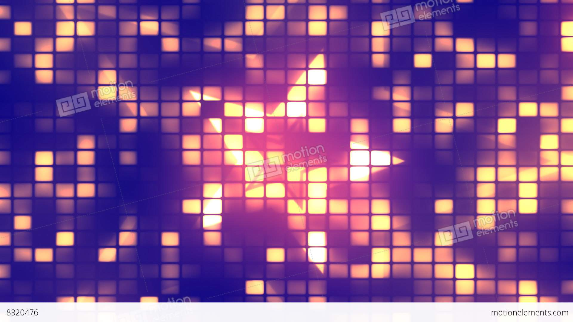 Dance Party Lights 1– Loopable Background Stock Animation ...