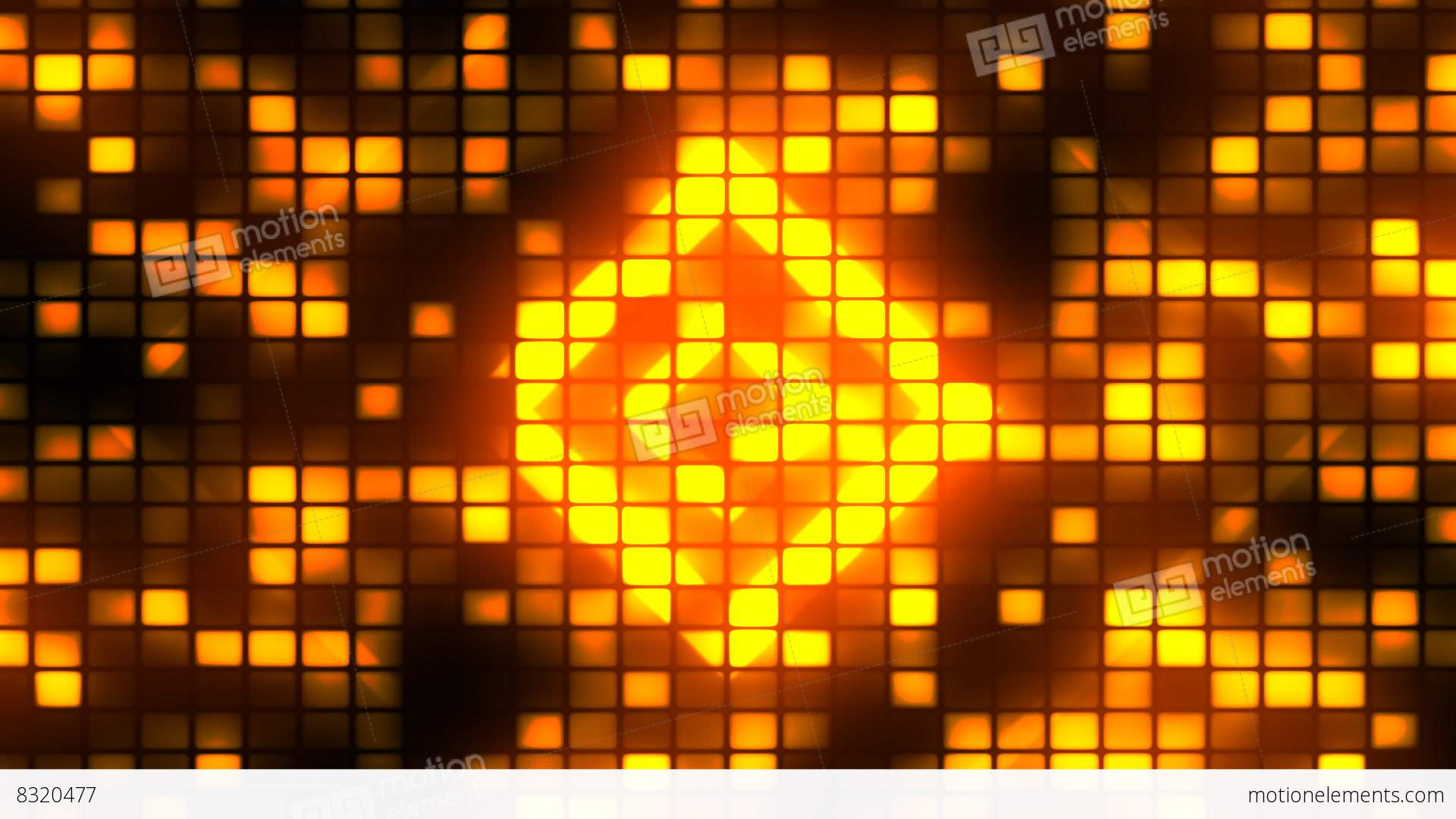 Dance Party Lights 2 Loopable Background Stock Video Footage