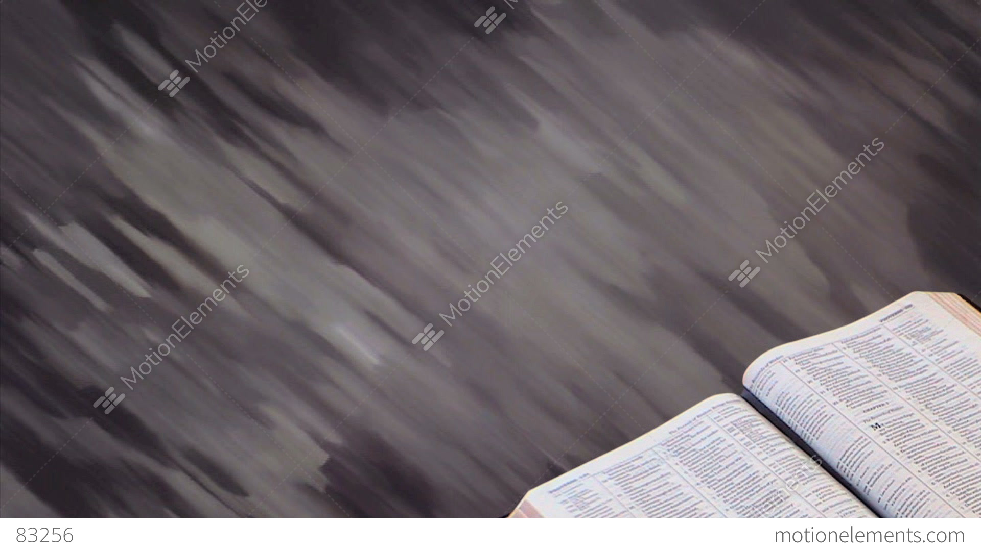 bible with motion background 02 stock animation