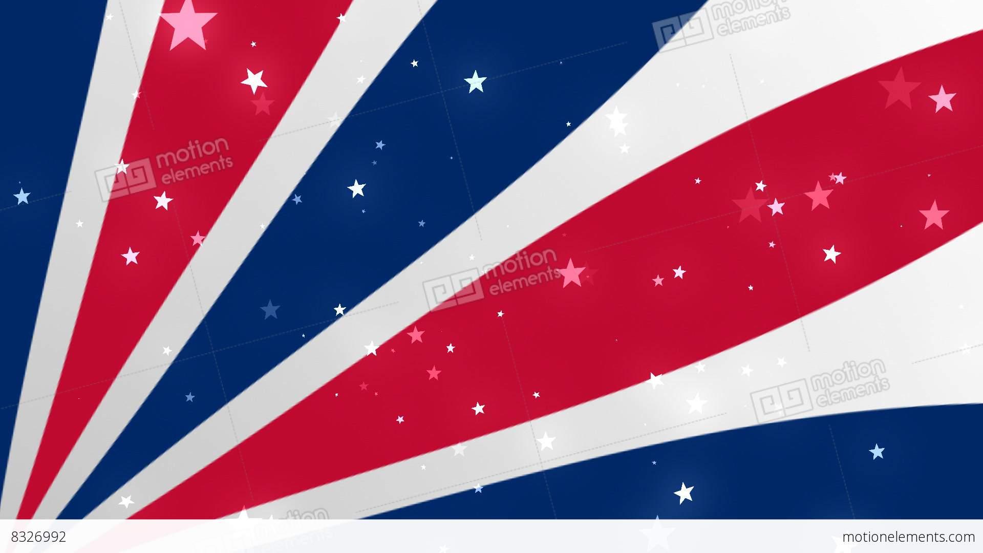us patriotic stars and stripes 2 bg 2� loopable background