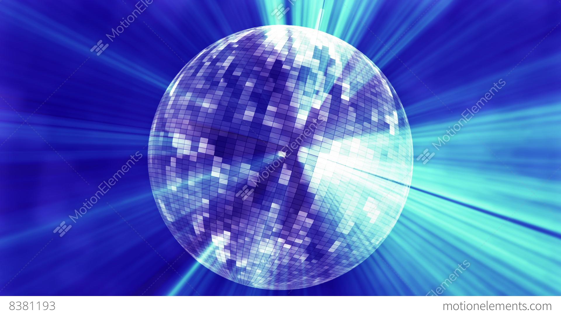 Cg Funky Disco Mirror Ball With Light Rays V1 Stock
