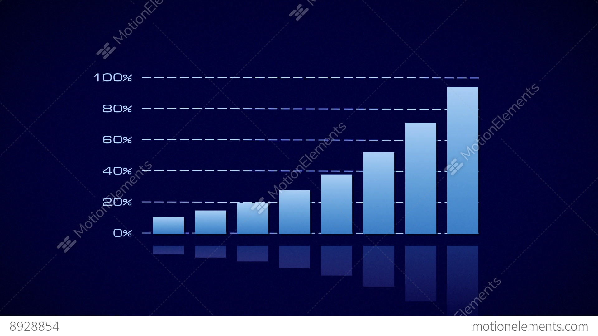 Stock bar graph blue on dark stock animation 8928854 stock bar graph blue on dark stock video footage ccuart Images