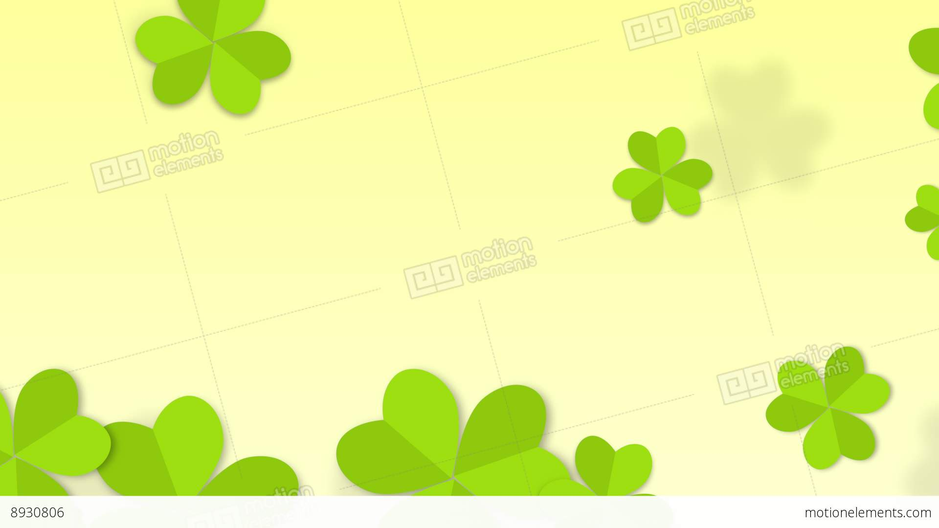 St patricks clover animated background stock animation 8930806 st patricks clover animated background stock video footage biocorpaavc