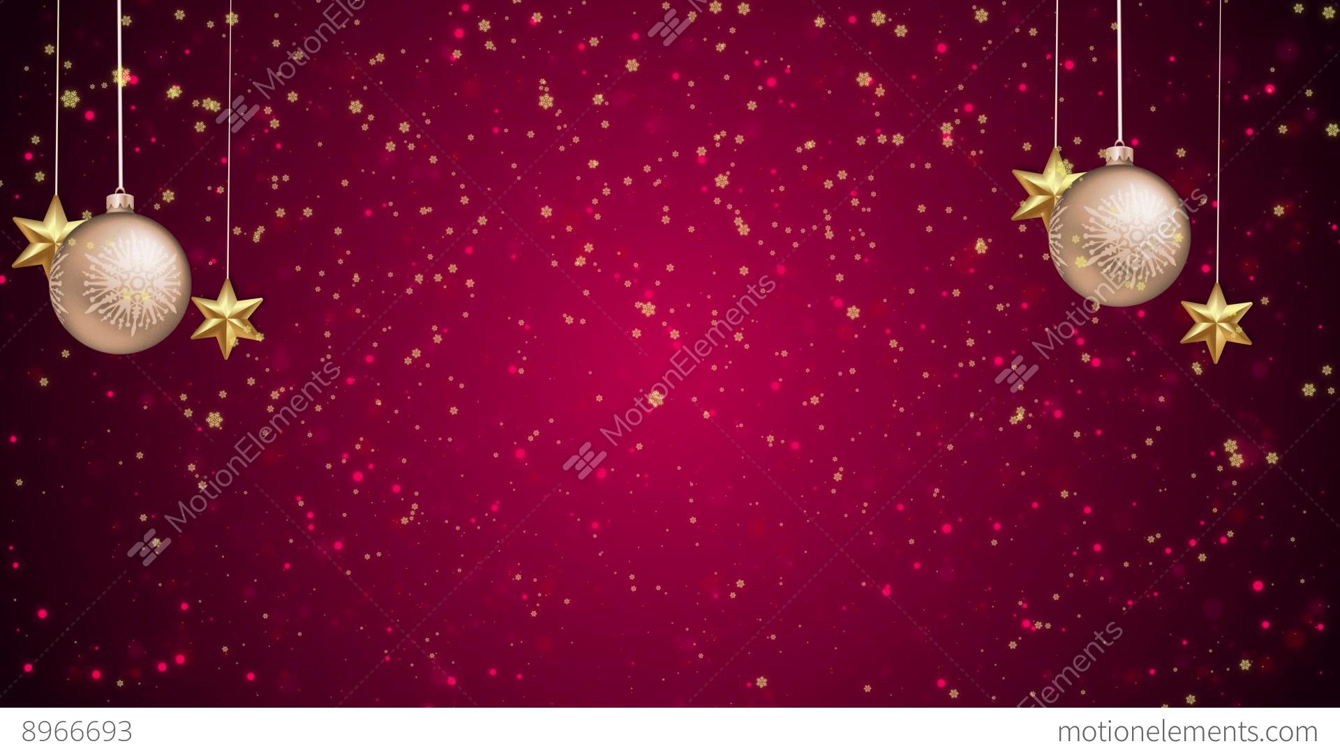 Christmas Greetings 01 Stock Animation 8966693