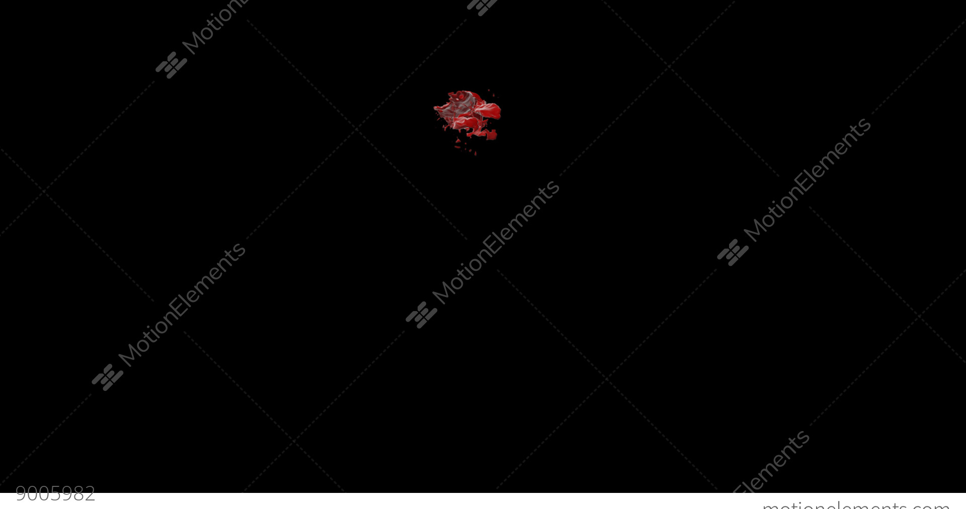Hd Blood Burst Motion Blur (With Alpha) 138 Stock video footage