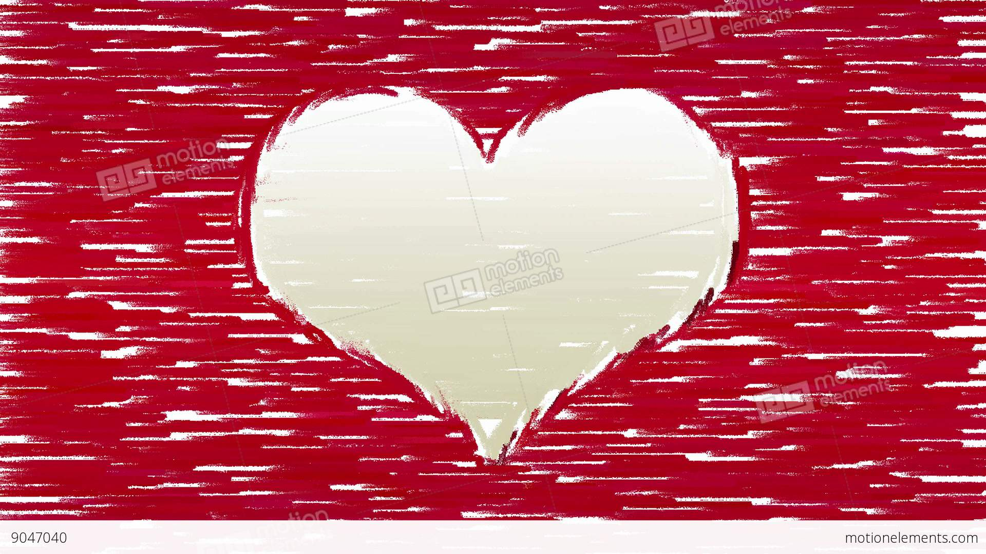 Paint brush strokes forms heart symbol stock animation 9047040 paint brush strokes forms heart symbol stock video footage biocorpaavc Image collections