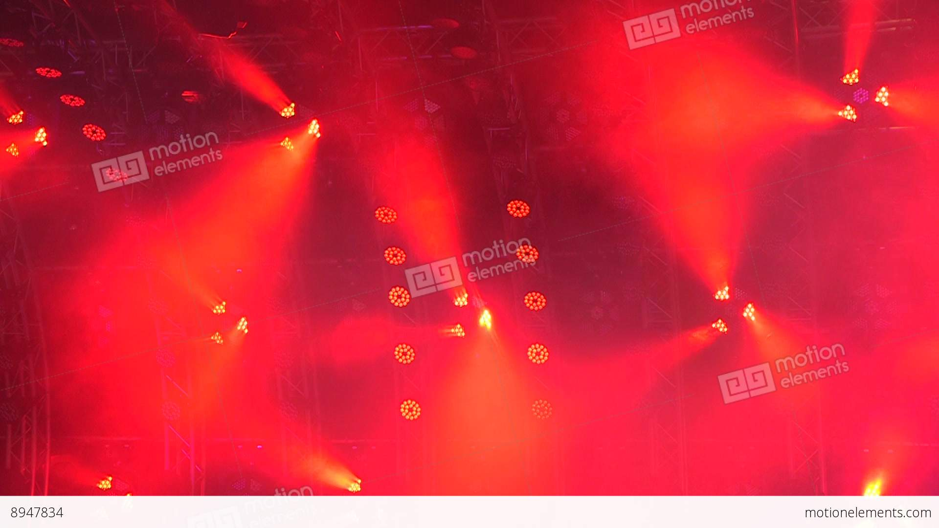 Stage Lights Abstract Background Stock Video Footage