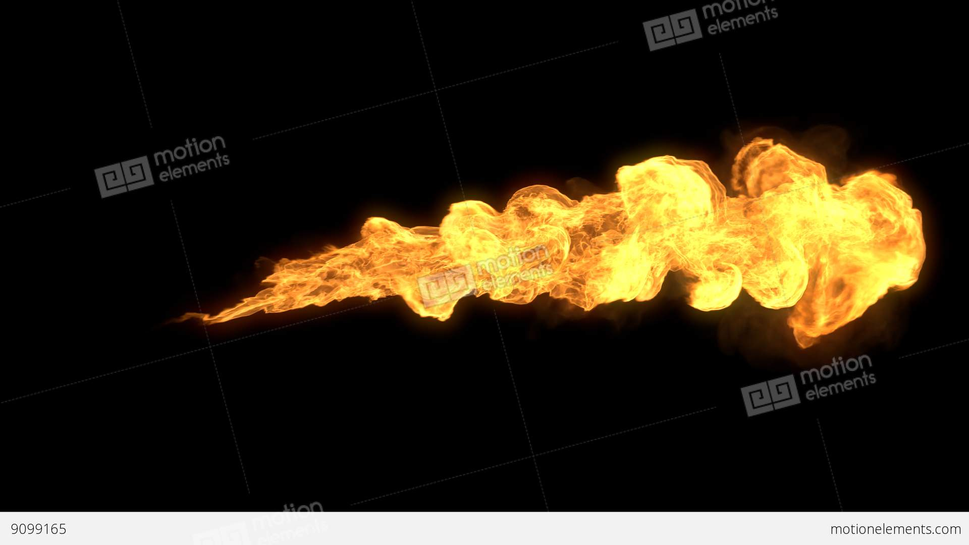 Realistic Stream Of Fire Like Fire-breathing Dragon's ...Fire Flames Dragon