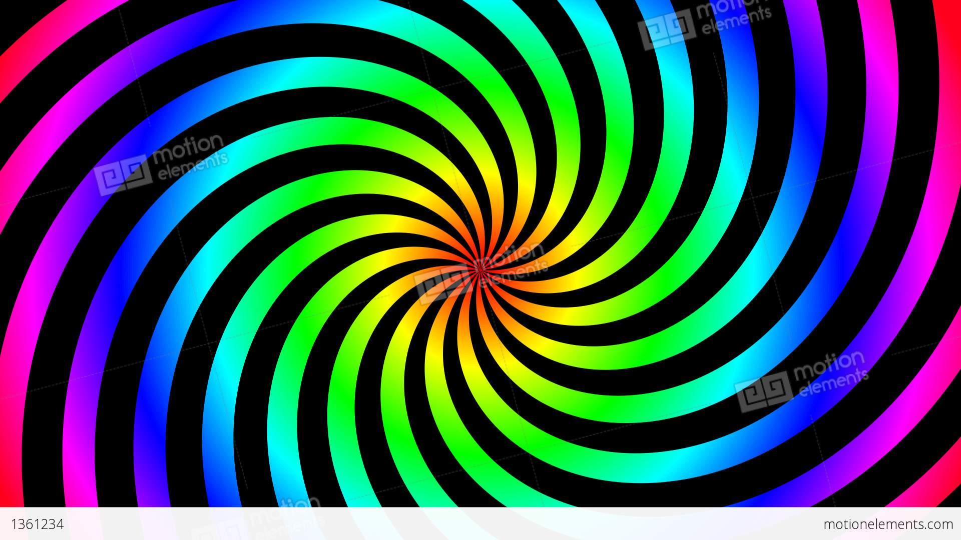 Twist Color Hypnotize Stock Animation | 1361234