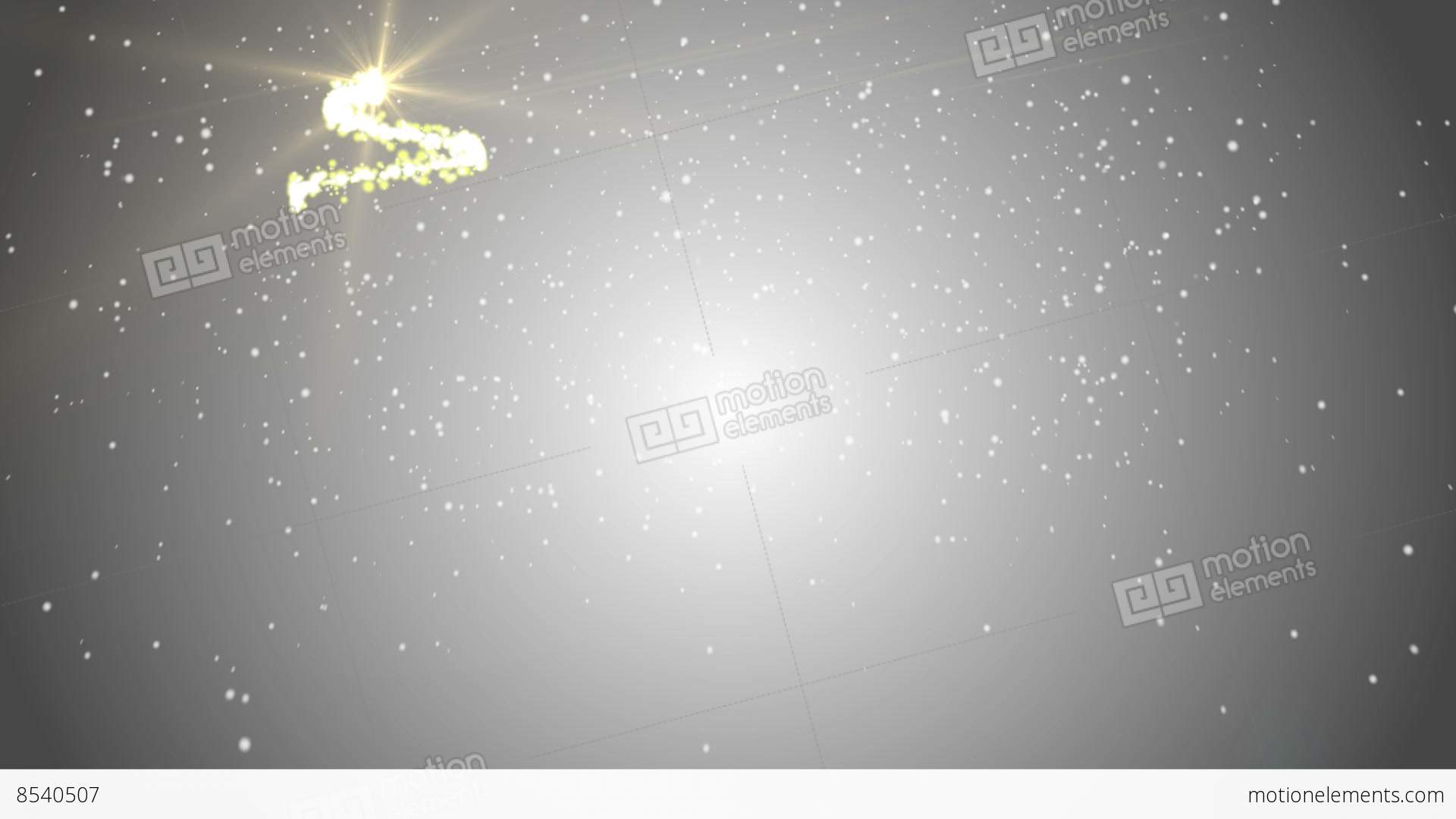 Merry Christmas Background Gray Backgrounds Stock Video